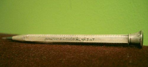 Orion Rádiópályázat nyeremény tolla