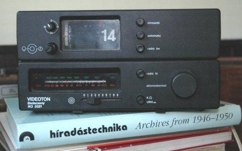 Videoton, Badacsony RO-3321 órás rádió