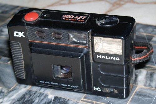 Halina fényképezőgép 280 AFF