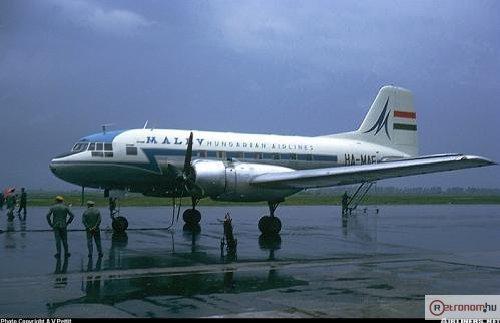 Malév IL-14 repülőgép