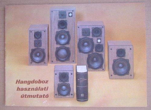 Videoton hangfal használati utasítás