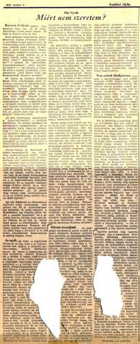 Háy Gyula: Miért nem szeretem? (1. rész)  - 1956