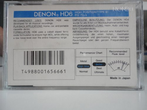 DENON HD6 100