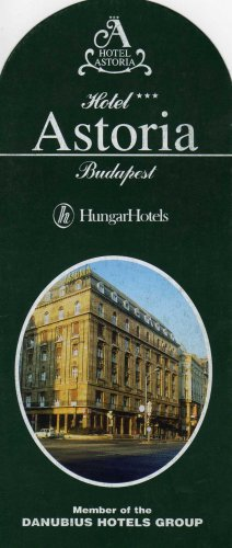 HungarHotels Astoria Hotel
