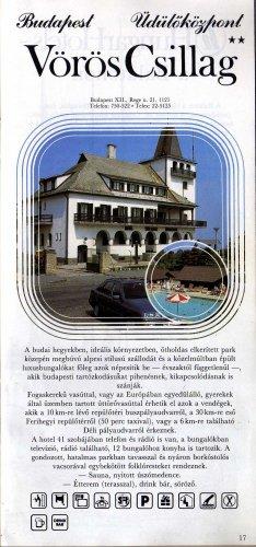 HungarHotels Vörös Csillag Üdülőközpont