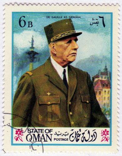 Bélyeg   De Gaulle