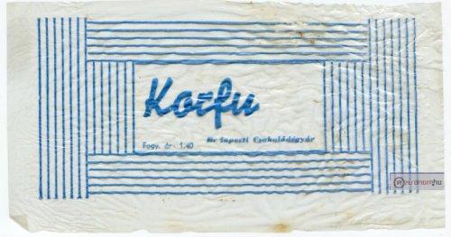 Korfu szelet csomagolás