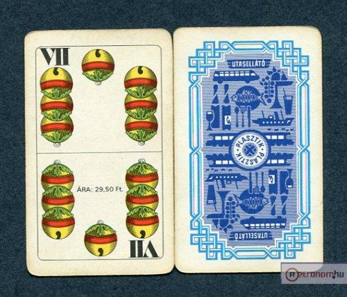 Magyar kártya, Utasellátó