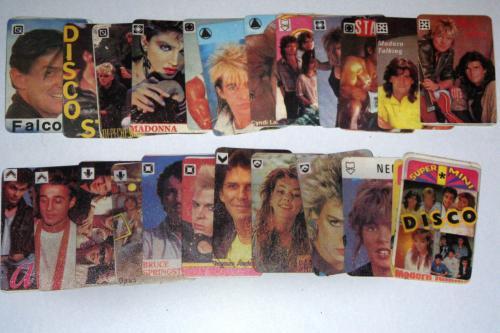 disco mini kártya