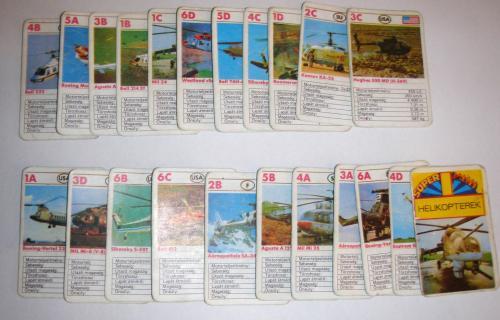 helikopteres mini kártya