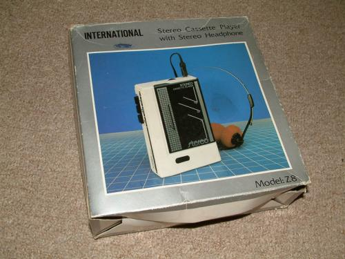 International walkman doboza