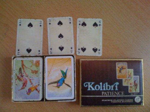Kolibri kártya