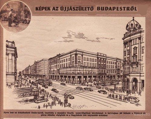 Képek az újjászülető Budapestről