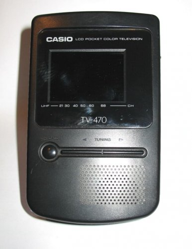 CASIO TV470D, LCD Color TV