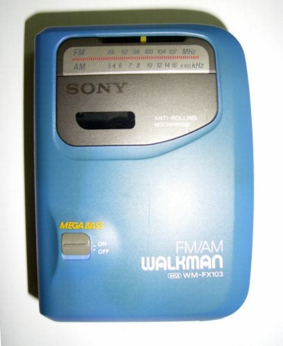 Sony walkman - WM-FX103  CCIR
