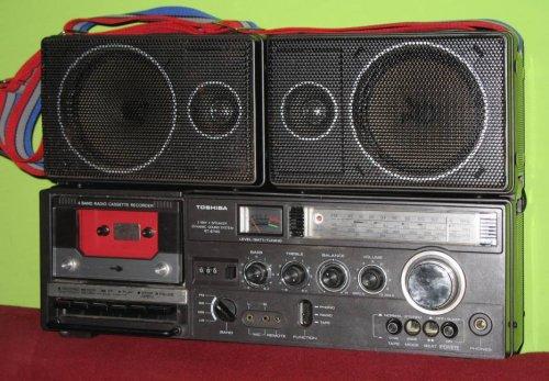Toshiba Bombax rádiósmagnó