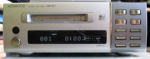 DM-SE7 Trio-Kenwood Minidisc Recorder