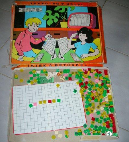 Játék a betűkkel társasjáték