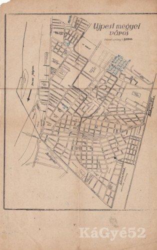 Újpest térkép