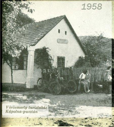 Kápolnapuszta - Vörösmarty turistaház 1958
