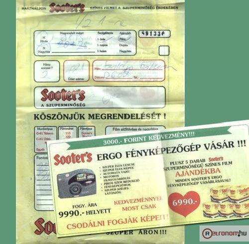 Sooter's filmelőhívás és reklám