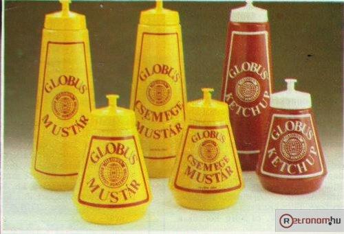 Globus mustár ketchup