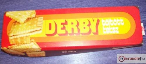 Derby keksz