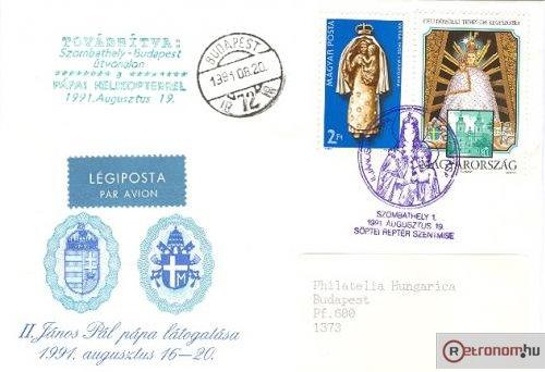 II.János Pál pápa látogatása