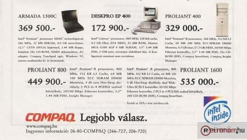 Qompaq számítógépek
