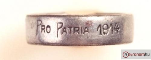Pro Patria gyűrű