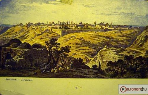 Jeruzsálem Palesztina