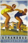 Szombathelyi strandfürdő plakát