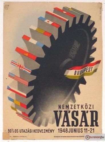 Nemzetközi vásár plakát