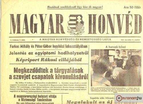 Magyar Honvéd újság