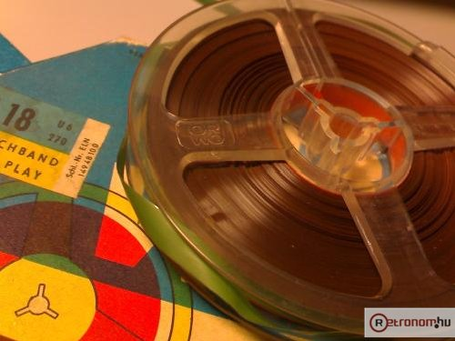 ORWO Magnetband eredeti orsóval