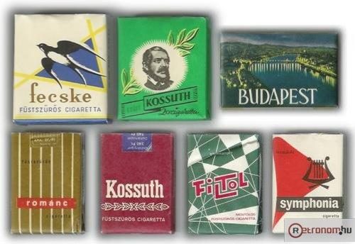 Klasszikus cigaretta fajták