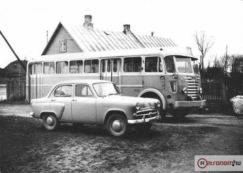 Ikarus 60 Moszkvics 402