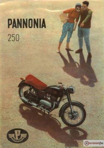 Pannonia 250 motorkerékpár