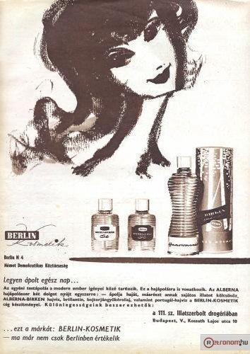 Berlin kozmetikumok