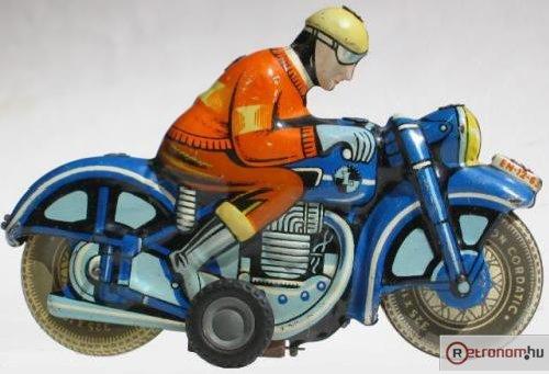 Lemezárugyári Lendület motorkerékpár