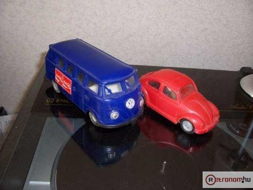 Lemezárugyári Volkswagen mikrobusz bogár