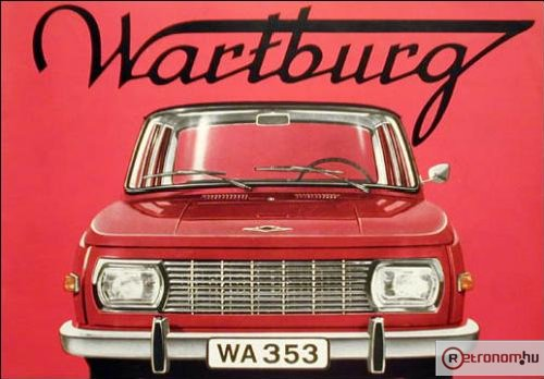 Wartburg 353 prospektus