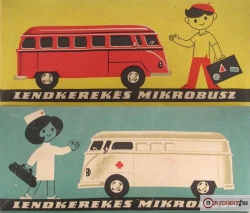 Lemezárugyári Volkswagen mikrobusz