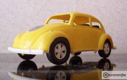 Műanyag játék Volkswagen bogár