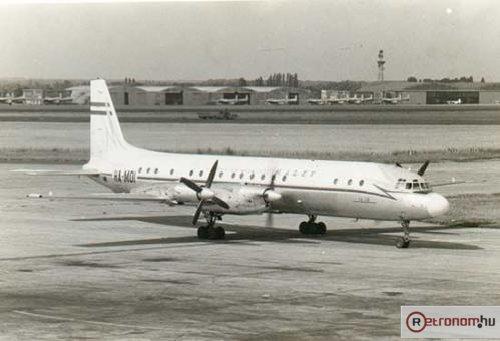 Malév IL-18 repülőgép