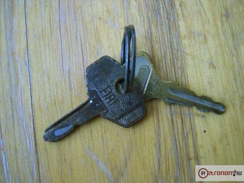 Fiat 500 kulcsai