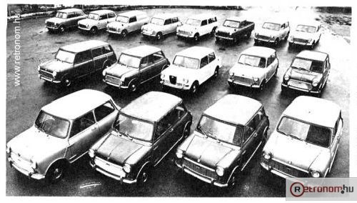 Mini Morris kollekció