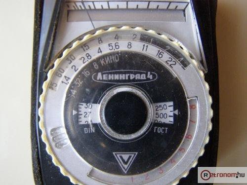 Leningrád-4 mechanikus fénymérő