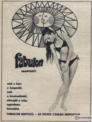 Fabulon napozó