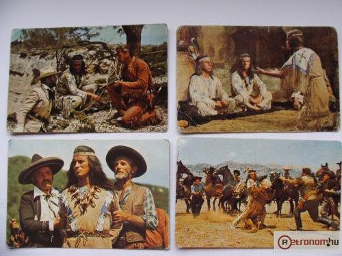 Winnetou rágógumi képek